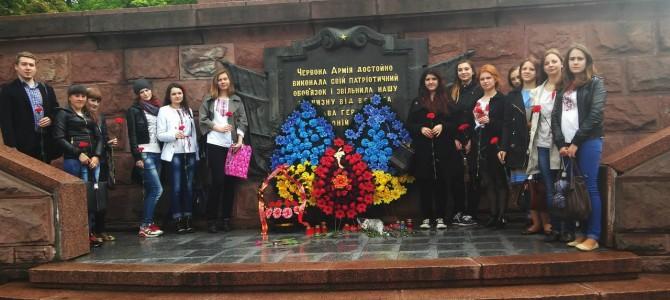 Студенти кафедри разом з викладачами провели ряд заходів до Дня Перемоги
